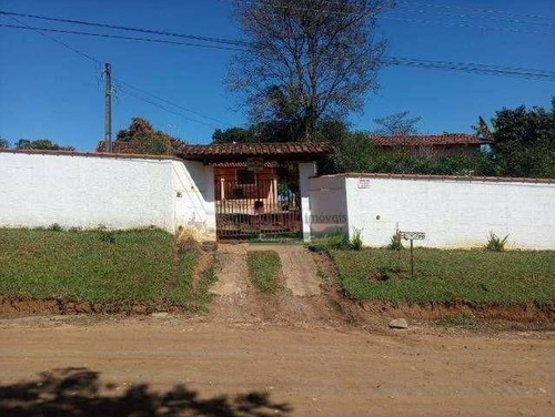 Chácara Com 1 Dormitório À Venda, 4000 M² Por R$ 300.000,00 - Goiabal - Pindamonhangaba/sp - Ch0398