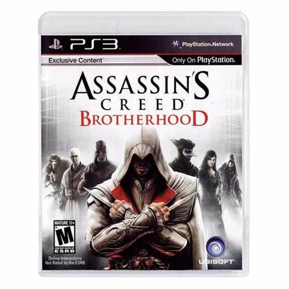 Assassins Creed Brotherhood Ps3 - Mídia Física