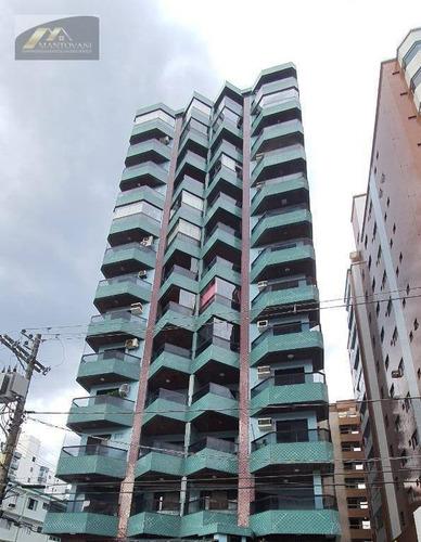 Imagem 1 de 30 de Apartamento Com 3 Dormitórios À Venda, 114 M² Por R$ 532.000,00 - Vila Guilhermina - Praia Grande/sp - Ap2690