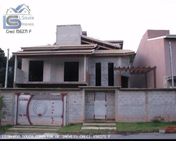 Casa Com Excelente Padrão De Construção, Faltando Acabamento Em Pinhalzinho/sp - 651 - 34064605