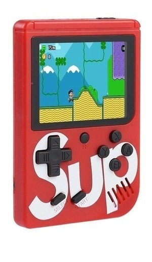 Vídeo Game Portátil 400 Jogos Internos Mini Game Sup Red