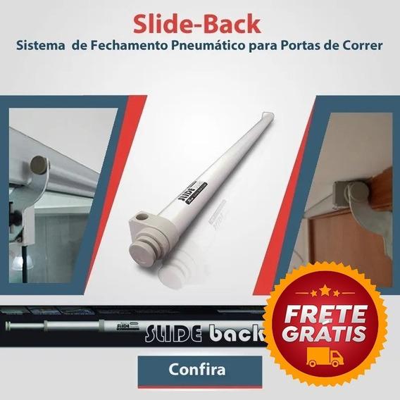 Slide-back Fechamento Pneumático Para Portas Vidro Correr