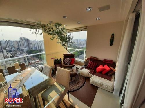 Imagem 1 de 30 de Lindo Apartamento De 89 M²/3 Dormitórios/2 Vagas/ Varanda Gourmet À Venda No Tatuapé, São Paulo - Ap00990 - 69196948