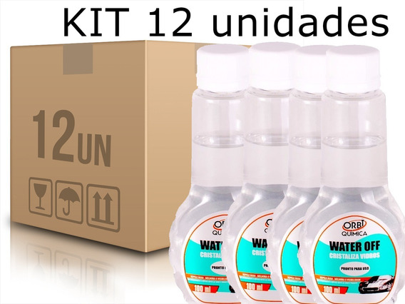 Kit 12 Cristalizadores Water Off 100ml Orbi Quimica-1575
