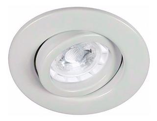 Dicroica Led 5w + Spot Embutir Blanco Completo Led Dicroica