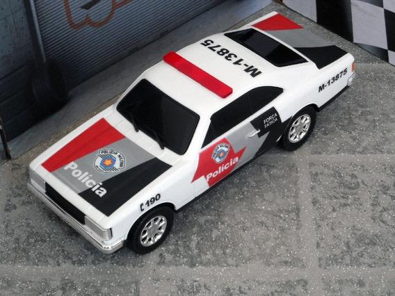 Miniatura Opala Polícia Militar Pm Sp - ±1/18