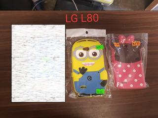 Funda LG L80 Variedad!!