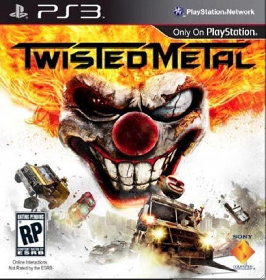 Twisted Metal Ps3 Pronta Entrega Playstation 3