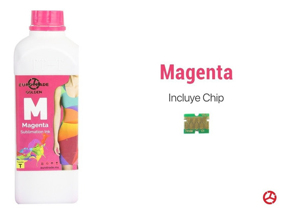 Tinta + Chip Para Sublimación Compatible Con Epson