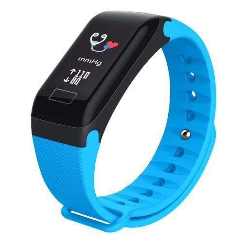 Pulseira Monitor Cardiaco Pulseira Relógio 696 Vermelha
