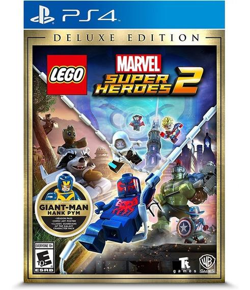 Lego Marvel Super Heroes 2 Deluxe Ed Ps4 Mídia Física