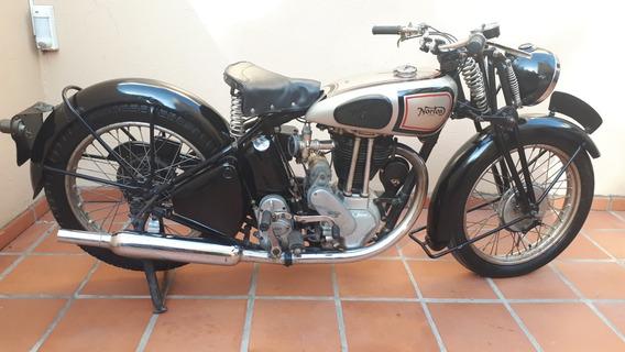 Moto Norton 500 M 18 1948