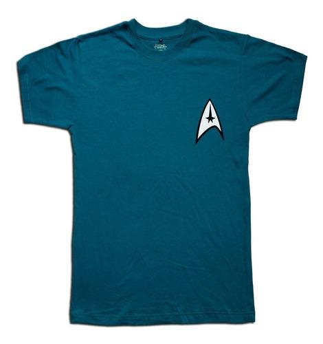 Remera Star Trek Serie Spock Hombre Mujer Niño Talle Algodon