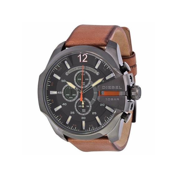 Relógio Diesel Masculino Grafite/marrom Dz4343/0pn
