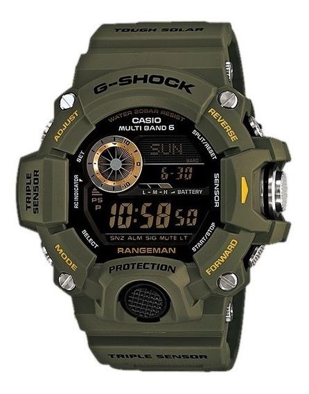Relógio Casio G-shock Gw-9400-3 Rangeman Original