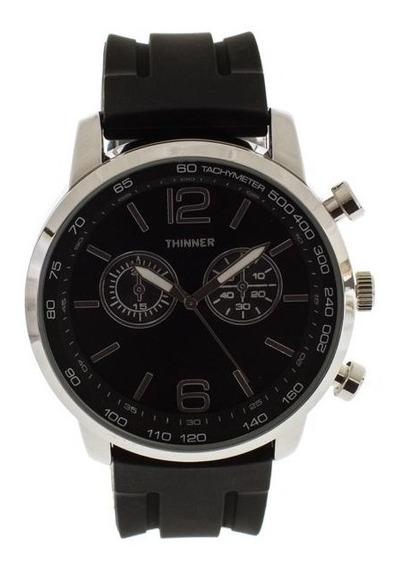 Reloj Thinner 1477b Negro