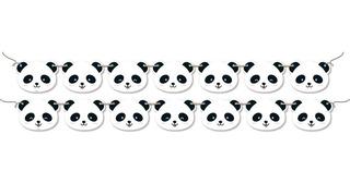Faixa Decorativa Panda Para Aniversário