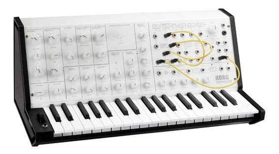 Teclado Sintetizador Korg Ms-20 Mini Branco Ms20 Garantia