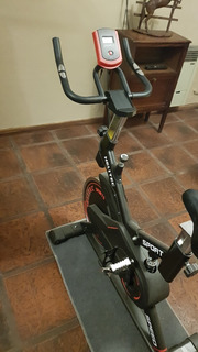 Bicicleta Spinning Profesional 18kg Con Panel Lcd