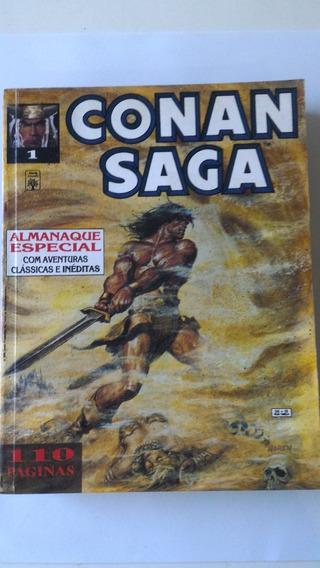 Raríssima Coleção Conan Saga Marvel Gibi Hq Quadrinhos