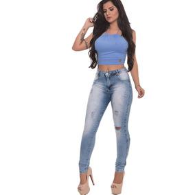 5161034f8 Calca Jean Feminina 46 Biotipo - Calças Jeans Feminino no Mercado ...