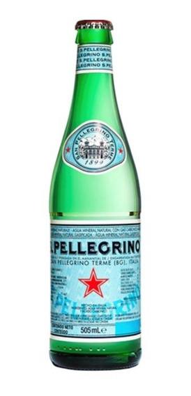 Agua Mineral San Pellegrino Refresco 505mls Gde Oferta! Pza.
