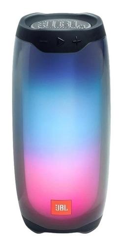 Imagen 1 de 2 de Parlante JBL Pulse 4 portátil con bluetooth negra