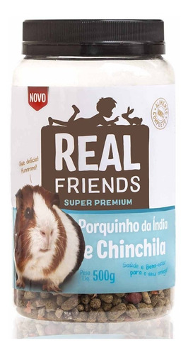 Imagem 1 de 1 de Real Friends - Porquinho Da India E Chinchila