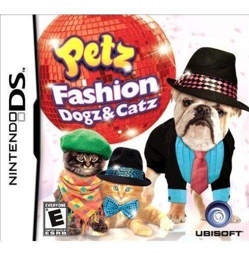 Petz Fashion: Dogz And Catz Nds Mídia Física Novo Original