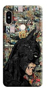 Estuche Forro Carcasa Collage Batman iPhone, Samsung, Huawei