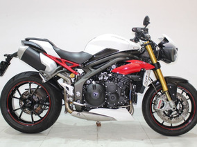 Triumph Speed Triple R 1050 2016 Branca