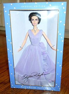 Elizabeth Taylor White Diamonds Doll - Edición Especial De B
