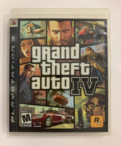 Ps3 Grand Theft Auto Iv Completo