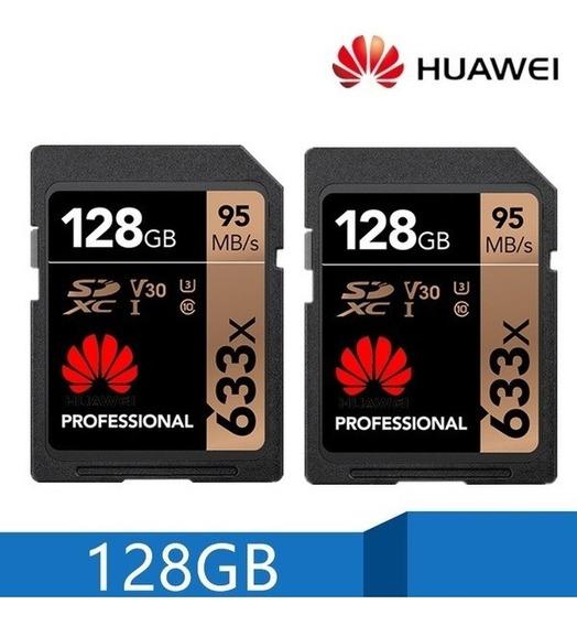 Cartão De Memoria Sd Huawei 128gb | 95mb/s + Adaptador