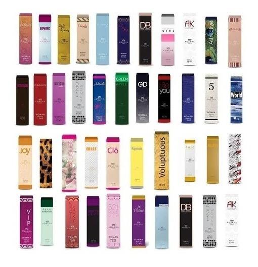 10 Perfumes Amakha Paris P Revenda Inspiração Nos Importados