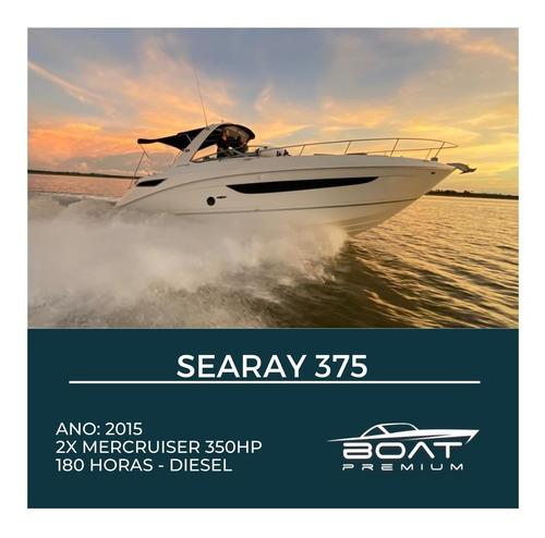 Imagem 1 de 1 de Searay 375, 2015, 2x Mercruiser 350hp - Ferretti - Sessa