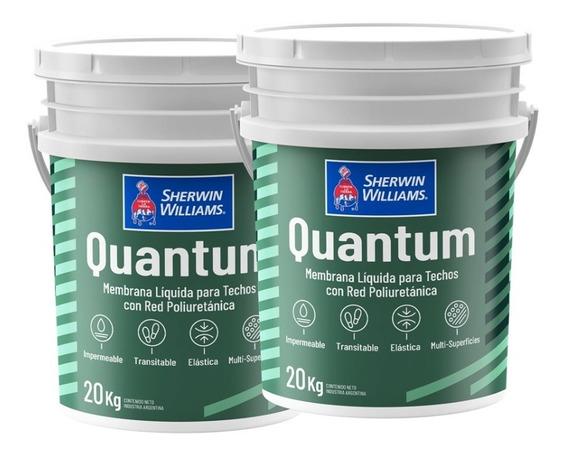 Membrana Liquida Sherwin Williams Quantum 20 + 20 Kg
