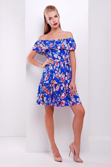 Vestido Floreado Campana Love - Importado