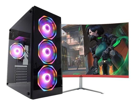 Pc Gamer Top+ Monitor23.8 I59400f 16gb Hd1tb 120gb 1650 Wifi