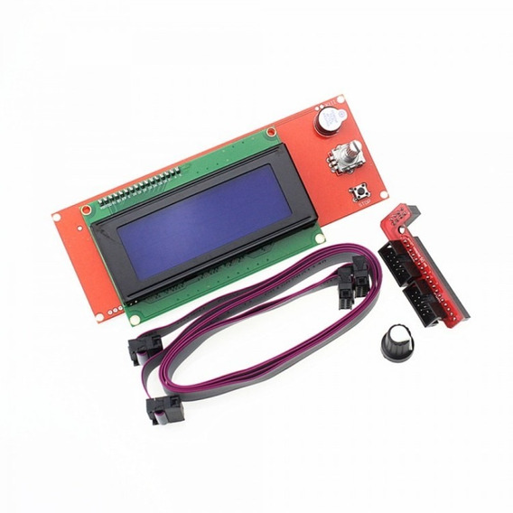 Display Tela Lcd Smart Controller Para Impressora 3d Ramps