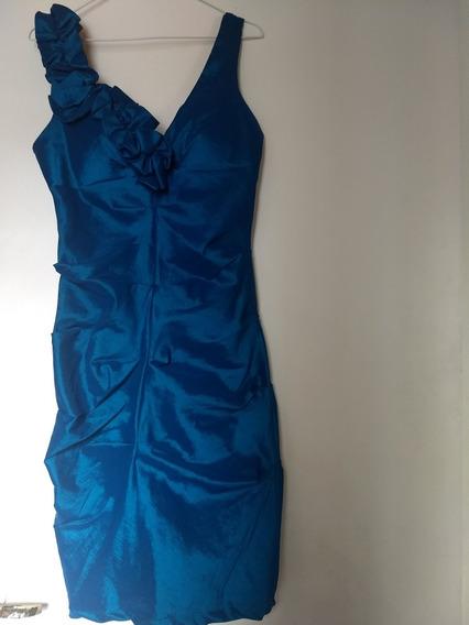 Vestido Tafeta Elastizada Nuevo Talle 3 Envios Mercadopago