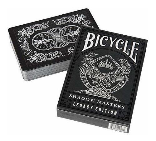 Ellusionist Bicycle Shadow Masters Juego De Cartas.
