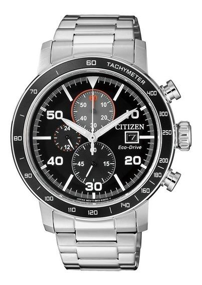 Reloj Citizen Hombre Crono Eco Drive Fecha Ca0641-83e