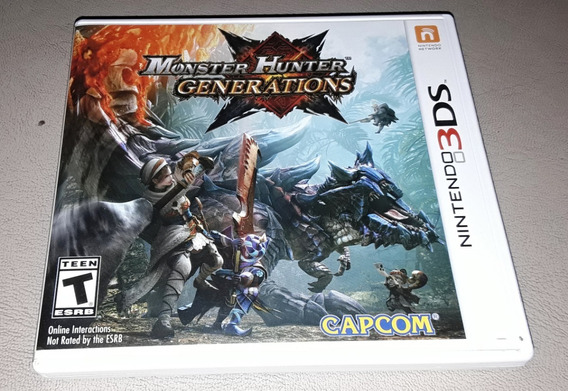 Monster Hunter Generations 3ds Original Americano Completo