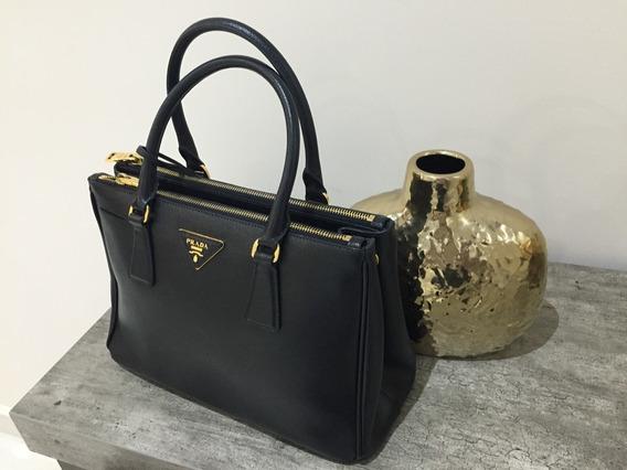 Bolsa Prada Saffiano Lux Nero 100% Original Garantizado.