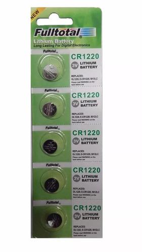 Promo 5 Pilas F.total Cr1220 3v P/relojes Instrumentos,luces