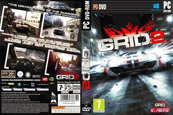 Grid 2 Pc Steam Key Original + Dlcs