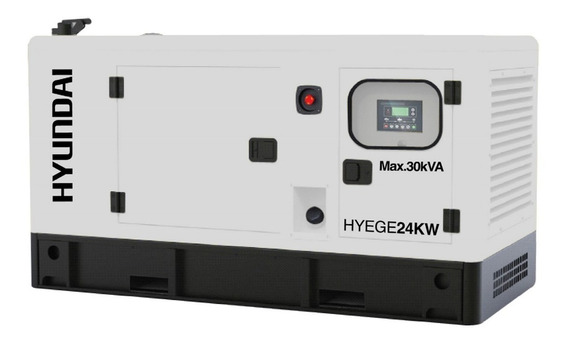 Generador De Luz 24kw 40hp Hyundai Hyege24kw Envío Gratis