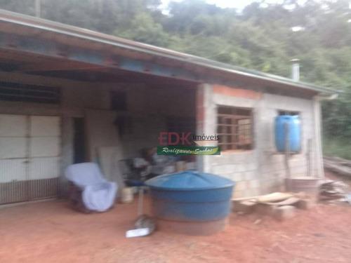 Imagem 1 de 20 de Ótima Chacara Á Venda No Recanto Eldorado. - Ch0734