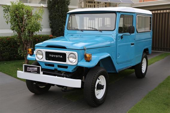 Toyota Bandeirante Jipe Longo 1985